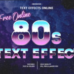 80s Text Generator