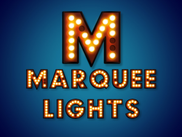 Marquee Font