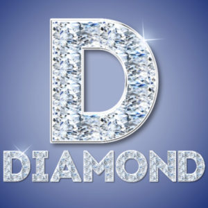 Diamond Text