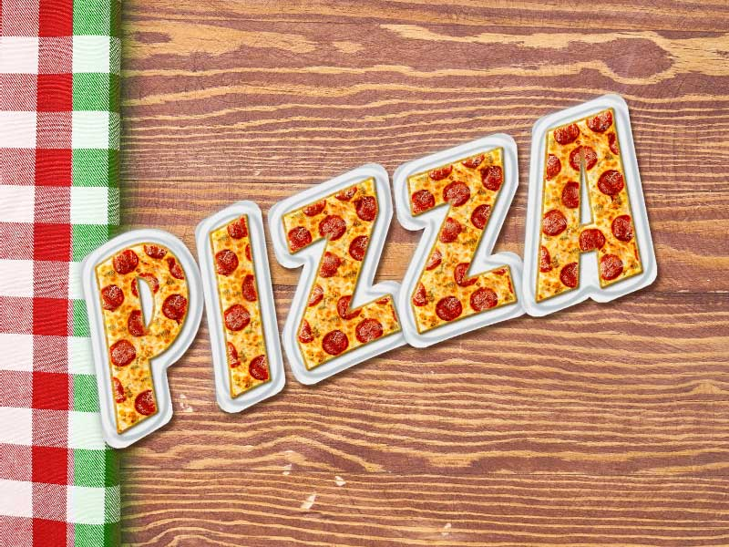 Pizza Font
