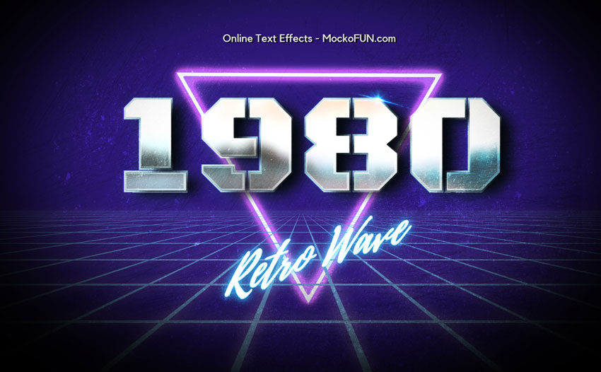 80s Text