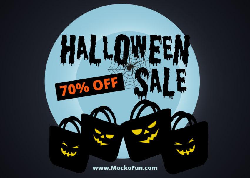 Halloween Sale Template