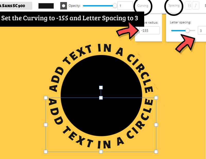 Circular Text Generator