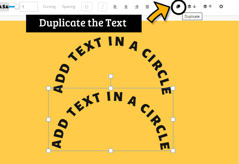 Duplicate Text