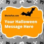 Free Halloween Card Online