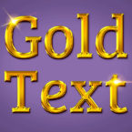 Gold Text