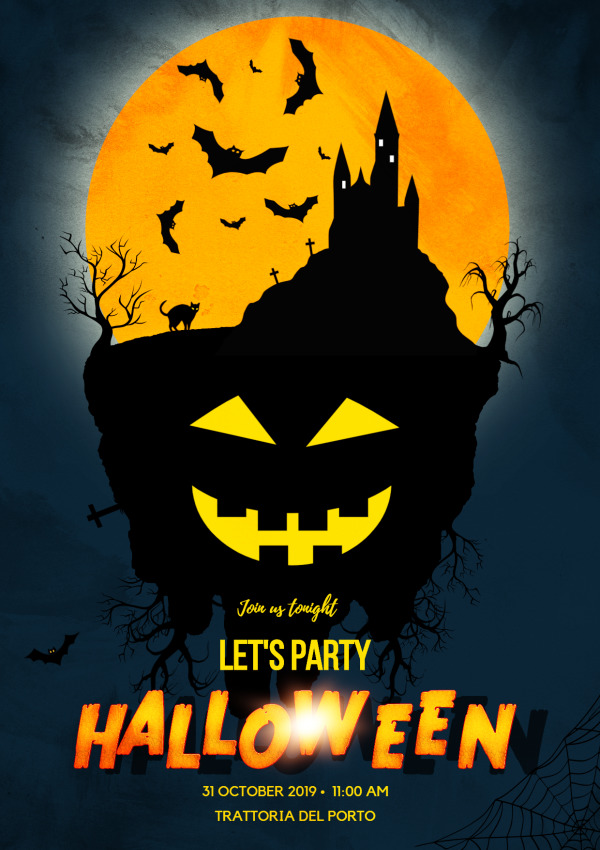Halloween Night Poster