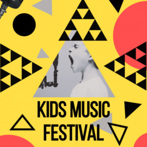 Kids Music Festival Flyer