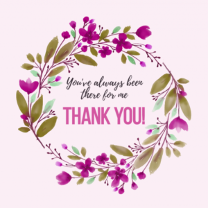 Thank You Card Printable Template