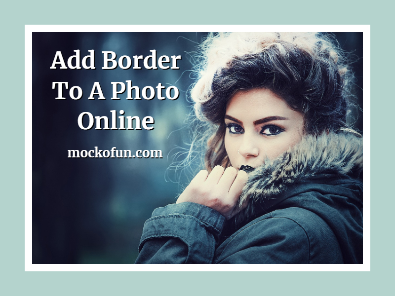 Add Border To Photo Online