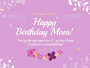 Birthday Card for Mom