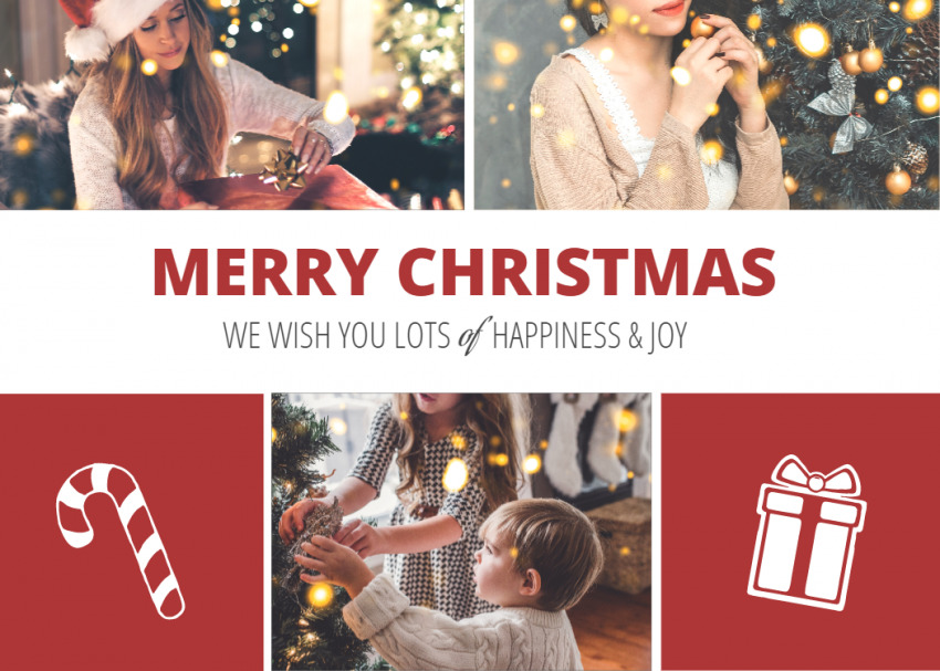 Christmas Card Personalized Photo