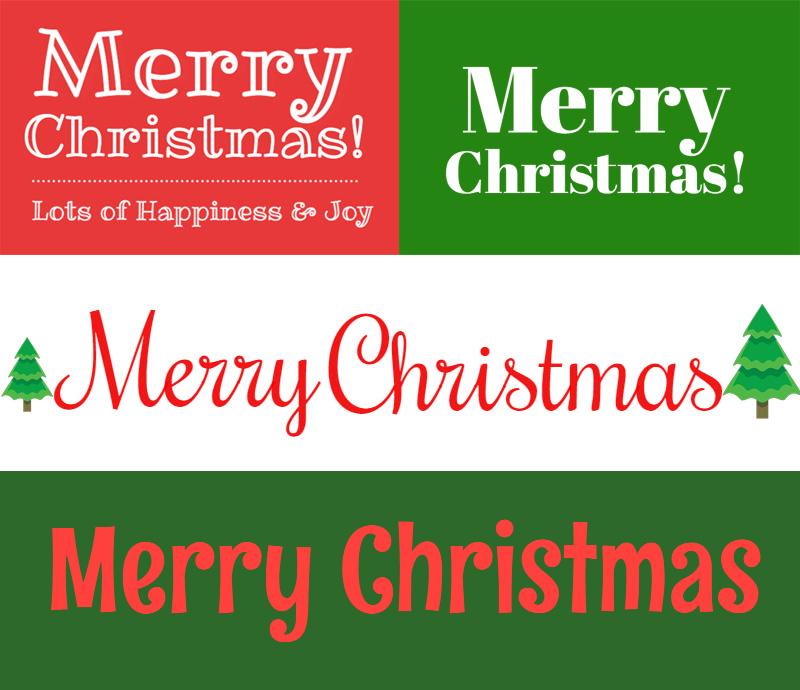 FREE) Christmas Fonts - MockoFUN
