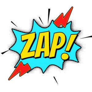 Comics Zap PNG