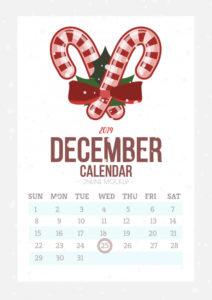 Copy of Floral Calendar Design