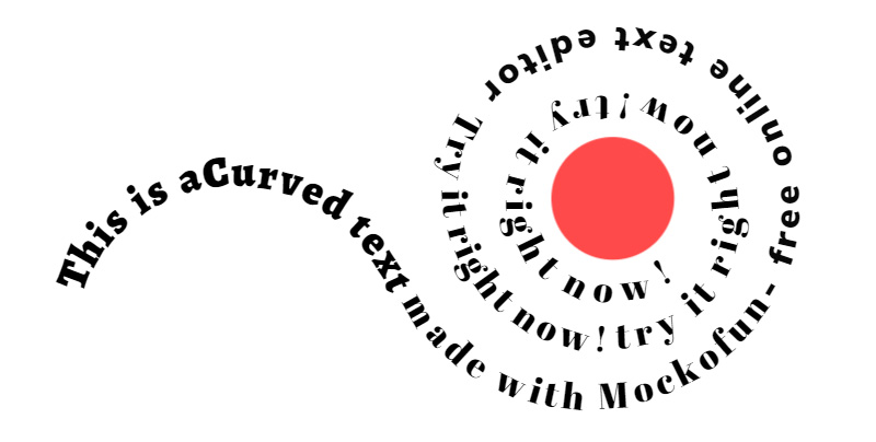 Create Curved Text