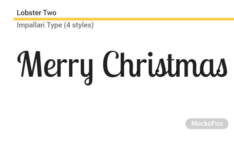 Free Christmas Font