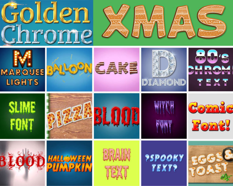 Text Effects Online