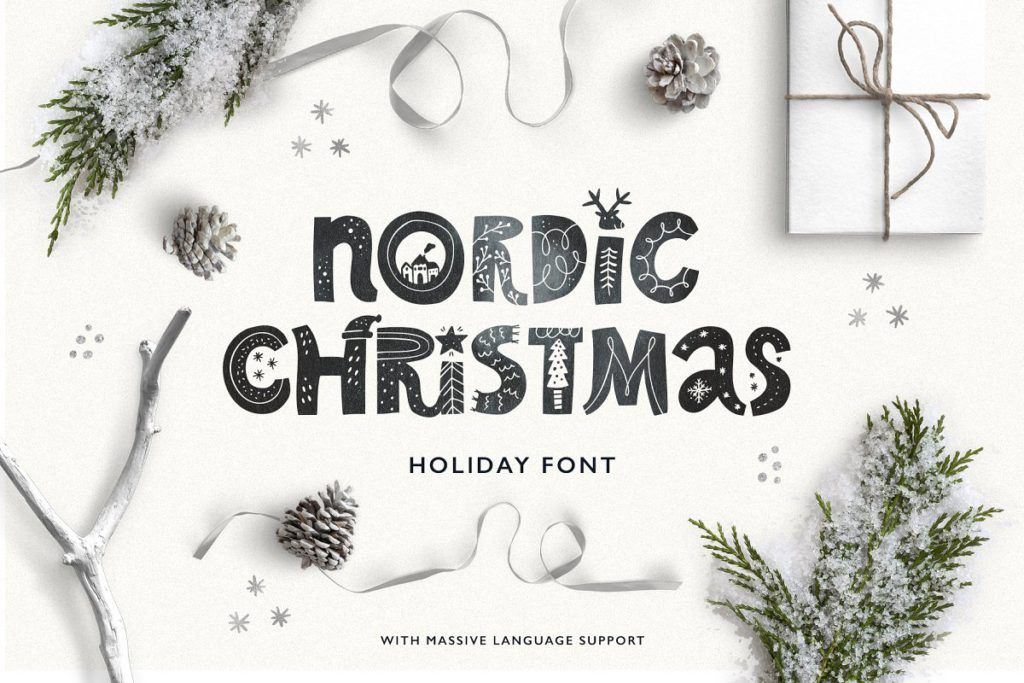 Scandinavian Font