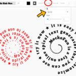 Spiral Text Generator