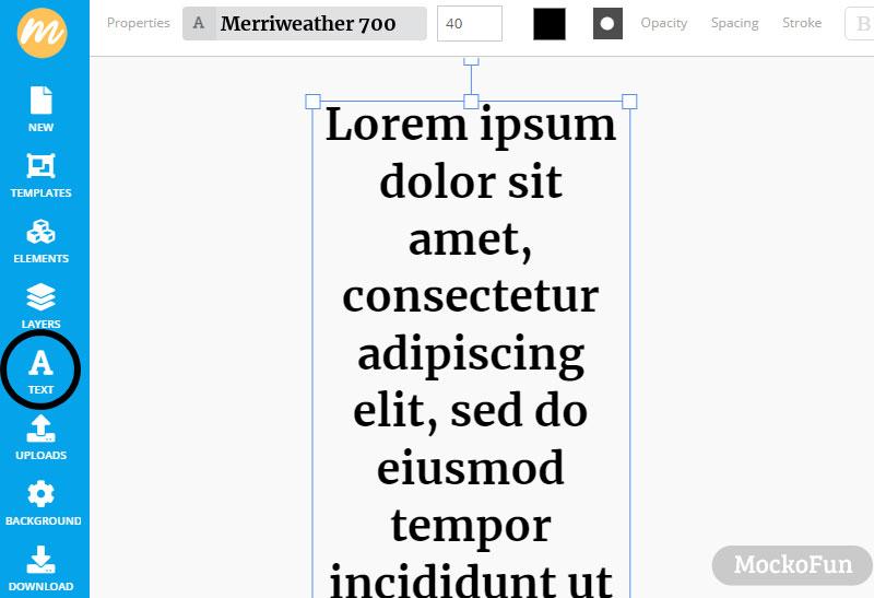 Text Image Generator