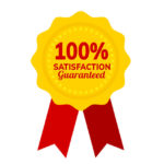 100 Satisfaction Guarantee PNG