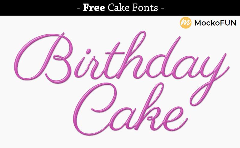 Birthday Font
