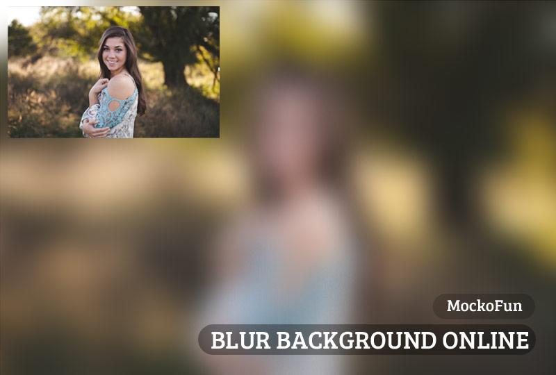 Free Blur Photo Online Mockofun