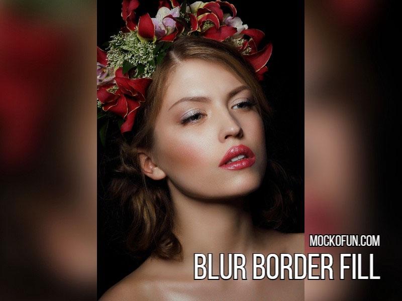 Blur Border Fill