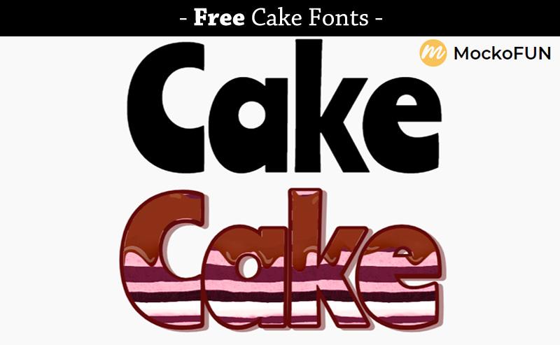 Cake Font Free