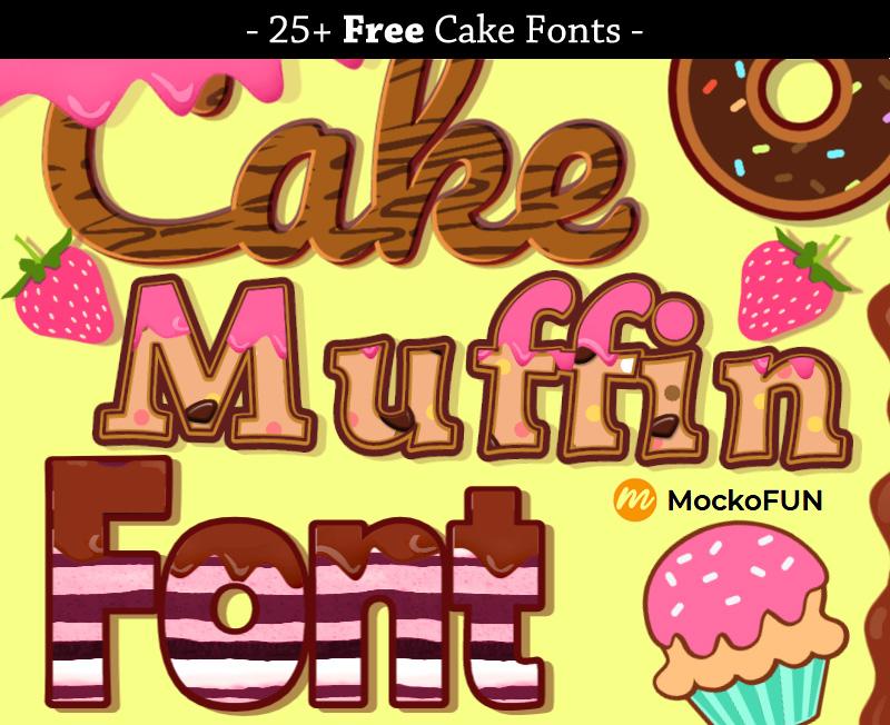 Cake Fonts