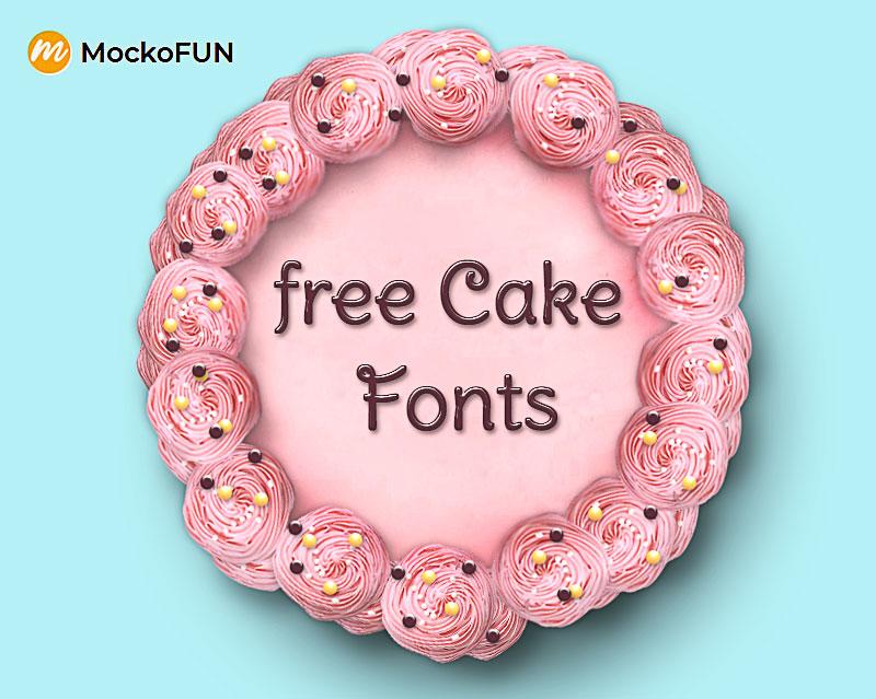 Cake Writing Font