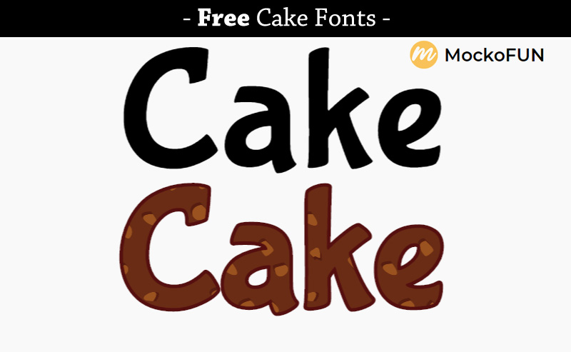 Chocolate Cookie Font