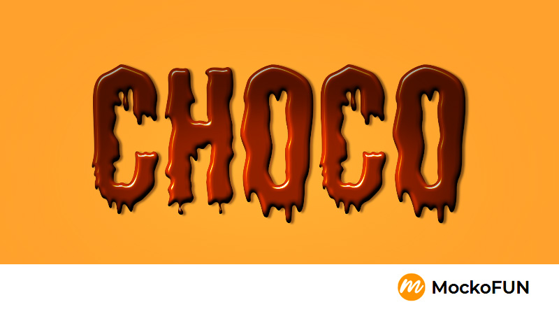 Chocolate Font Letters
