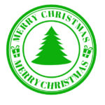 Christmas Rubber Stamp Free