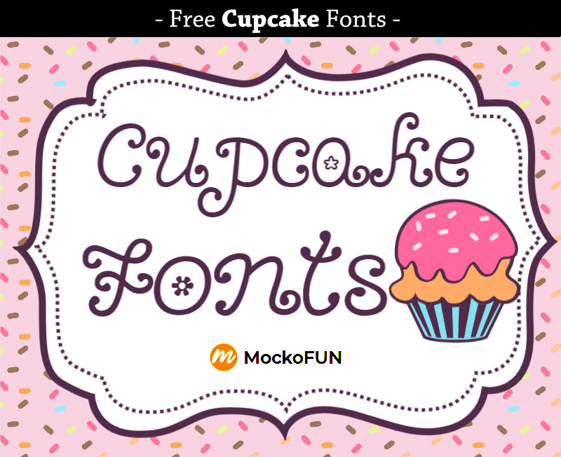 Cupcake Fonts