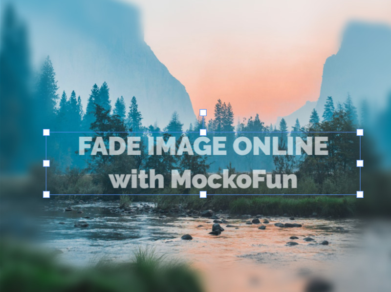 Fade Image Online