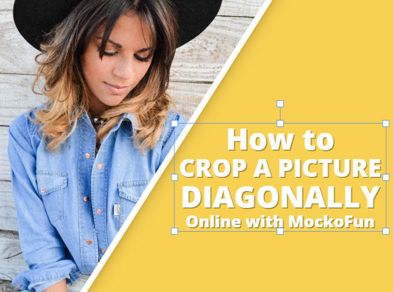 How To crop a Picture Diagonally
