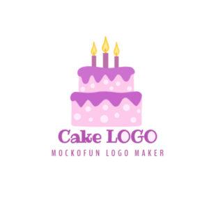 Birthday Cake Logo