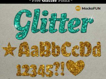 Glitter Font
