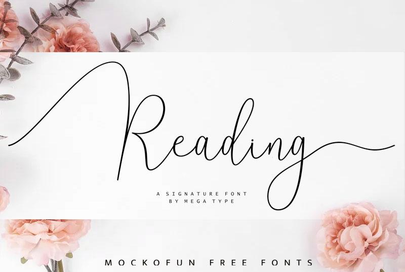 Free Signature Font