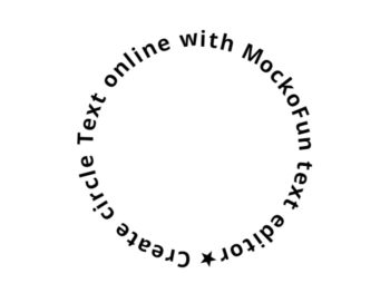 Circle Text