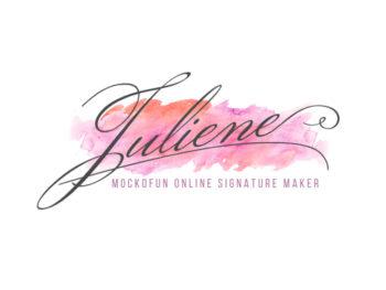 Name Signature Logo