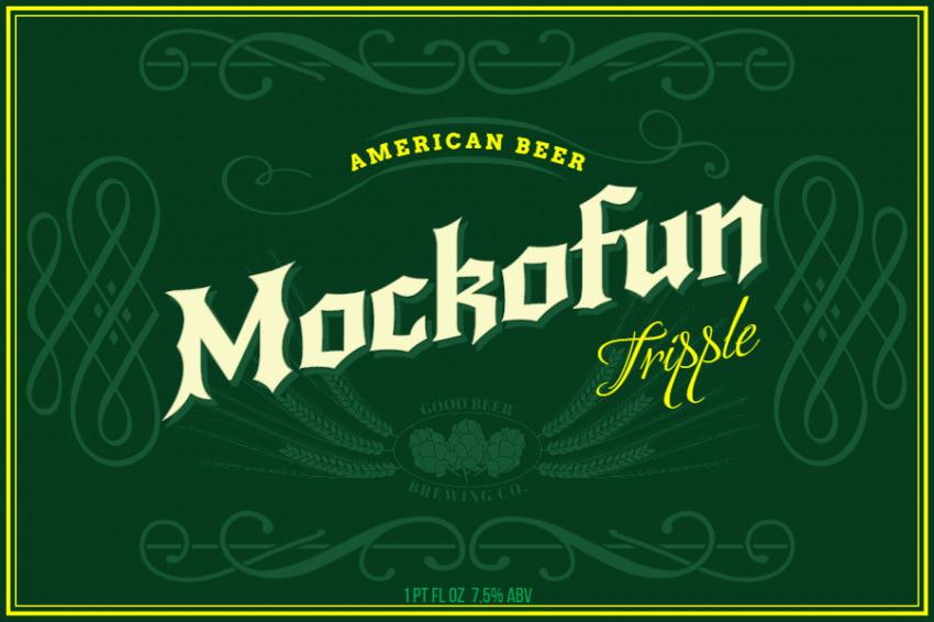 American Beer Label