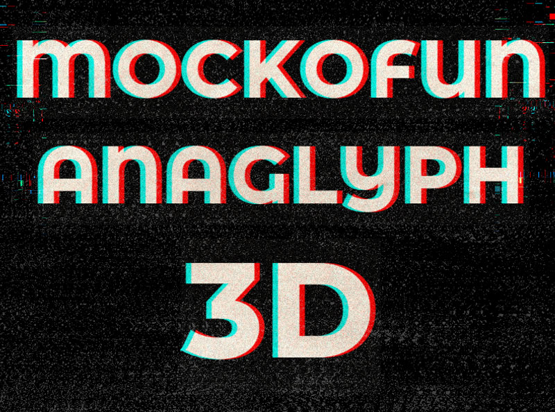 Anaglyph Text