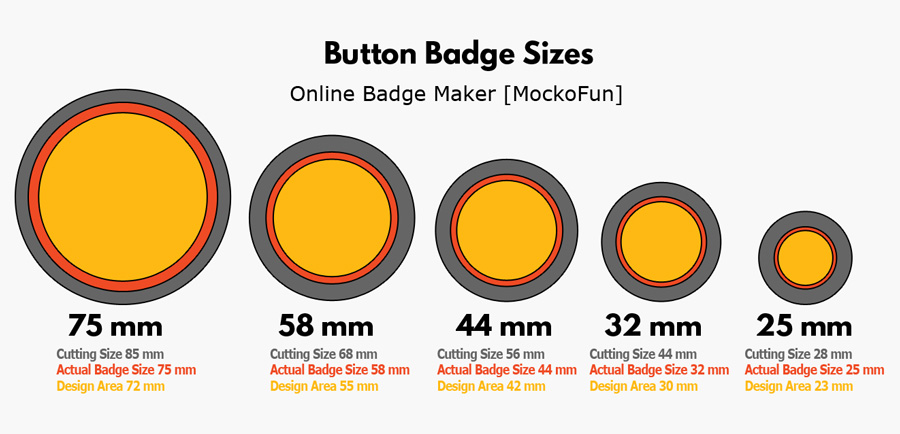 Badge Size