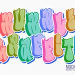 Bubble Graffiti Letters
