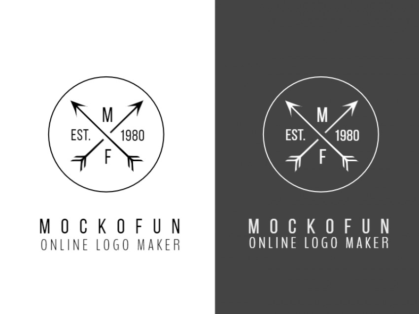 Cross Arrow Logo Design