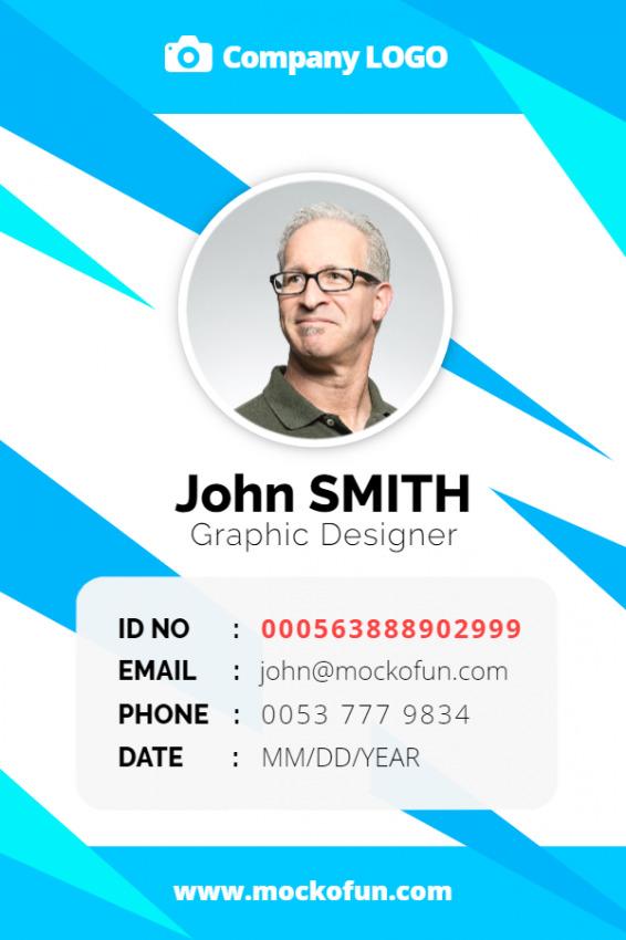 Employee ID Card Design