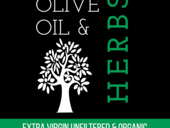 Olive Oil Bottle Label